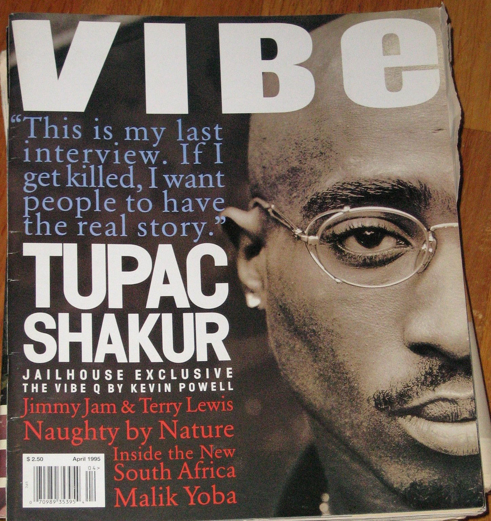 tupacismyherorip:  From the magazine Vibe his last interview