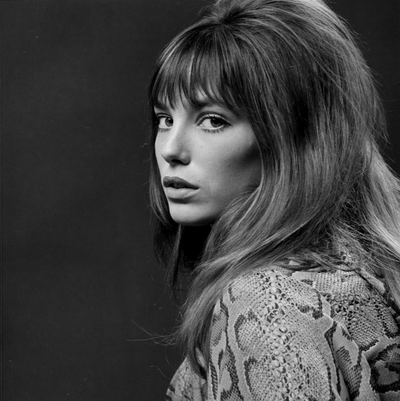 Patrick Lichfield - Jane Birkin, London, 19th September 1969