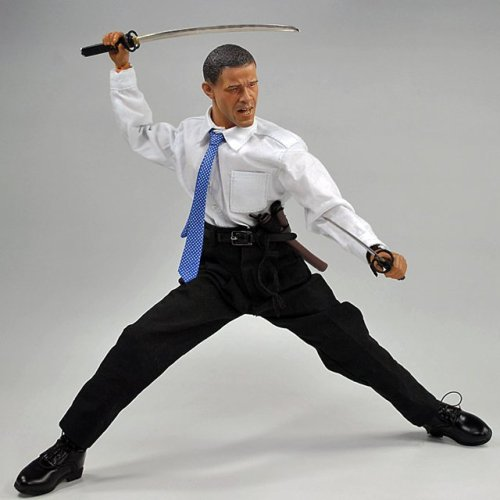Obama Action Figure by Gamu-Toys  $15 @thefancy.com