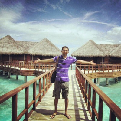 Me in #Bandos #Island and #Resort, in #Maldives. #instadaily #instamood #instagram #photooftheday #picoftheday #jj_low_light #jj #jj_forum #ayhamov #turquoise #water #white #sand #soft #nice #day #sun #boats #fish  (Taken with Instagram)