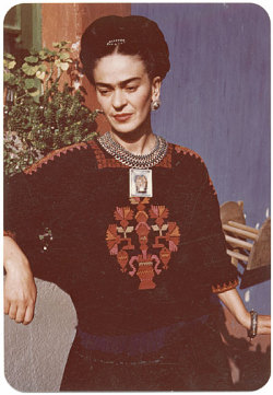 Happy 105th birthday, Frida! Frida Kahlo, 1948 Jan. 24 / Florence Arquin, photographer. Florence Arquin papers, Archives of American Art, Smithsonian Institution.