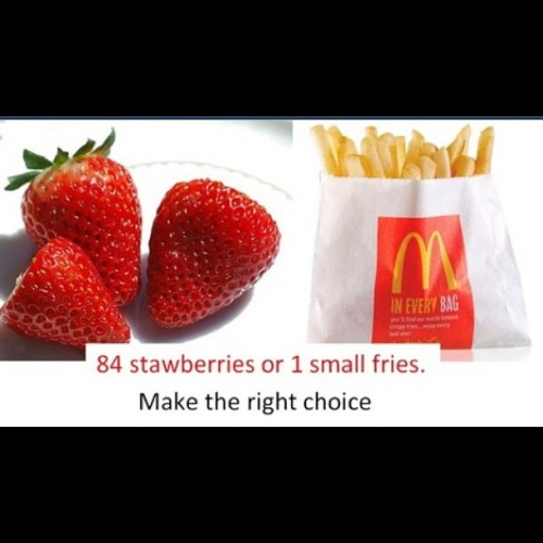 Wow!!!! McDonald's 👎#stayforeverthin #instadaily #skinny #fit #fitness #inspiration #motivation #thinstagram #instafit #run #dedication #justdoit  (Taken with Instagram)