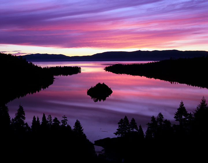 earthlynation:  Emerald Bay Sunrise by Tim Miley