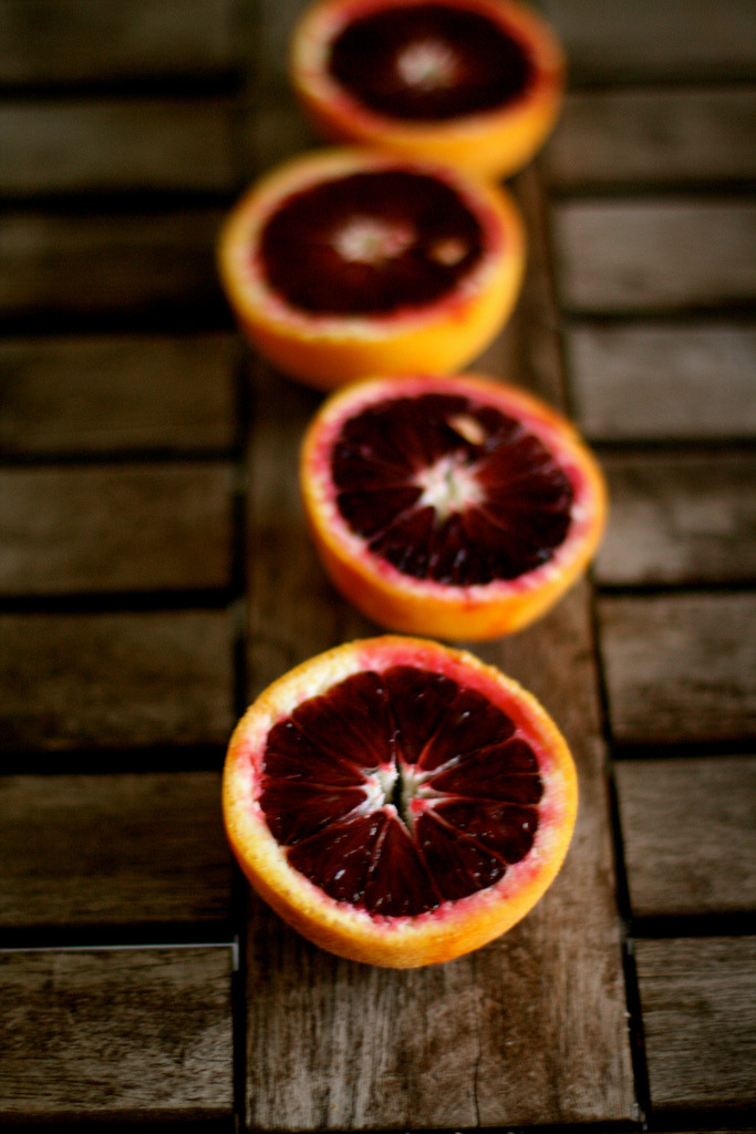 rusticmeetsvintage:  Blood Orange Cornmeal Cake by kristin :: thekitchensink, via Flickr