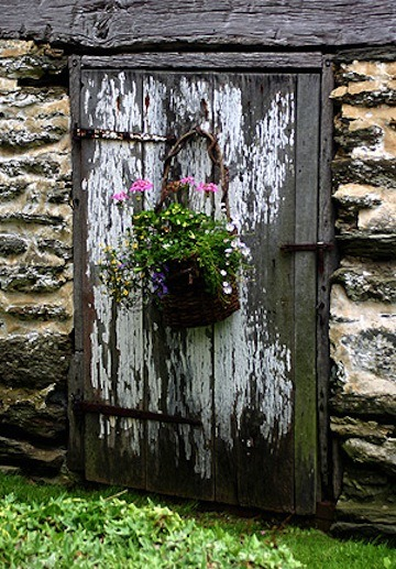Old Door. By John Kuhn