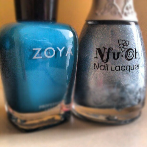 Feeling into blue as I head to my manicure. Should I go with #Zoya Robyn's bright blue, or #Nfu-oh's intoxicating 065? #beauty #nailpolish #questions 17h (via Photo by lifeaficionada • Instagram)