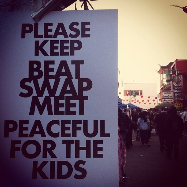 Beat Swap LA. #freshandflyproductions #losangeles  (Taken with Instagram)