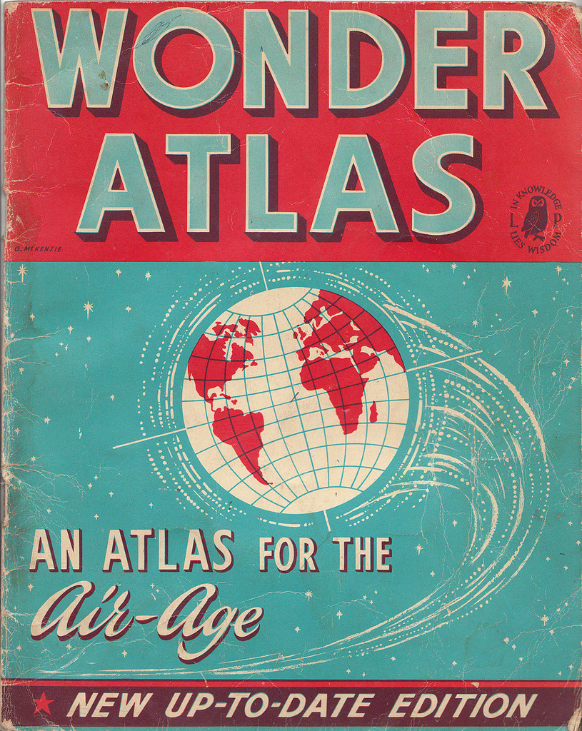Ephemera: Wonder atlas (by What Katie Does)