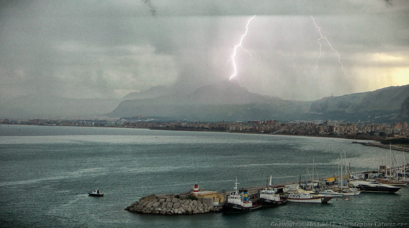 """Palermo Lightning Strike"""
