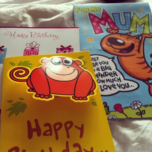 Birfday cards  (Taken with Instagram)