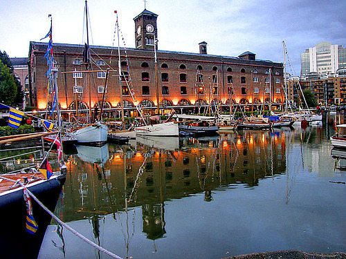 St Katharine's Dock, London