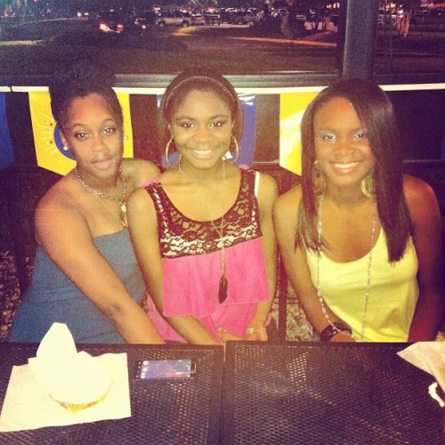 BW3's with Britney Golden and Brianna Lewis these girls are my favs. #Summer2012
