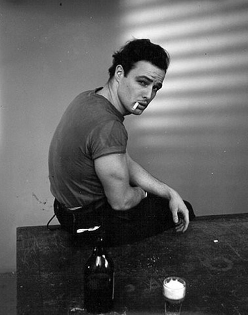 I have such a boner for young Brando.