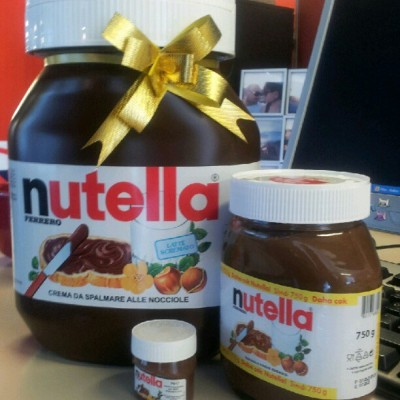 world of Nutella!! ;) #acans #gsss #nutella #love #like #instagram #chocolate  (Taken with Instagram)