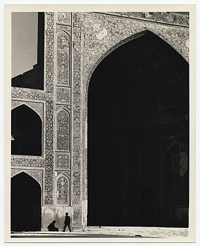 photographer: Joseph Lindon Smith (+) Masjidi Shah Afahan, Persia December 24, 1936 (Is Afahan —> Isfahan?) // samwitwicky:archivesofamericanart