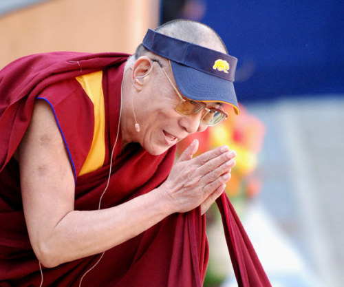 A very happy 77th birthday to Tenzin Gyatso, the 14th Dalai Lama, who is retiring to pursue a spot on the senior PGA Tour. Big hitter, the Lama.