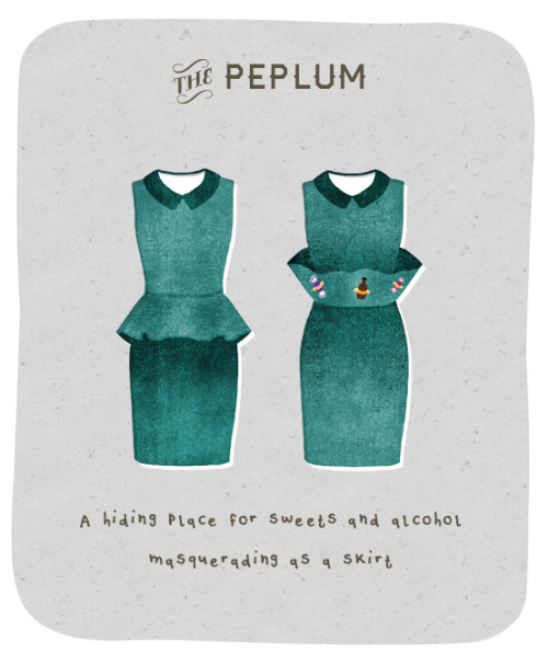 Peplum Dress - Purpose