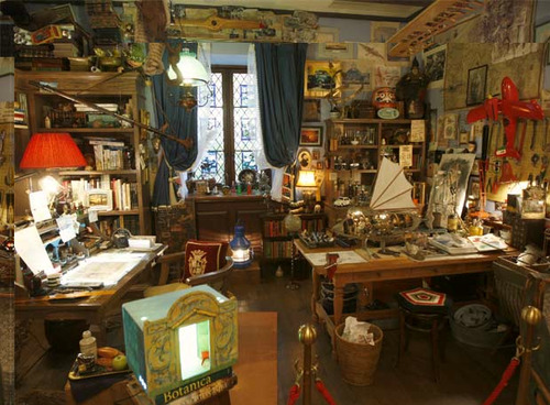 yourbestattempt:   Hayao Miyazaki's studio  It's almost how I imaged it…   I'm not even the slightest bit surprised. It's beautiful.