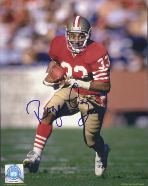 On this day in 1960, former NFL running back Roger Craig was born in Davenport, Iowa. The four-time Pro Bowler won three Super Bowls with the 49ers, including XIX, in which he rushed for 58 yards, caught seven passes for 77 yards, and became the first player ever to score three touchdowns in a Super Bowl as San Francisco beat Miami 38-16.