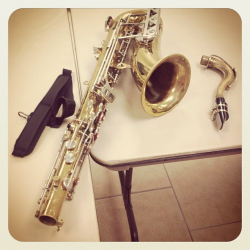 That's my Tenor baby!!!!  (Taken with Instagram)