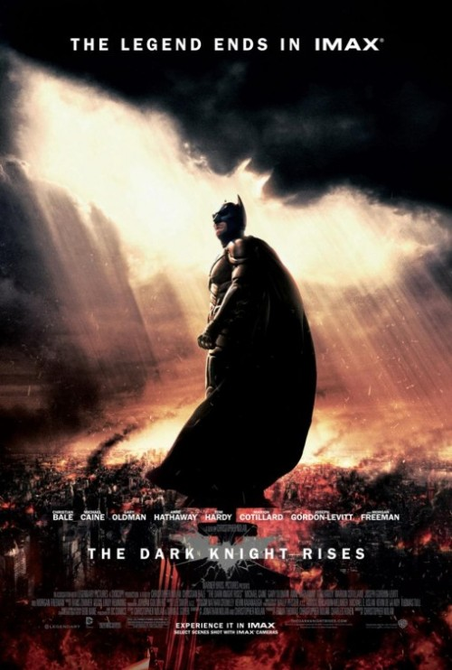 IMAX Poster for Christopher Nolan's The Dark Knight Rises.