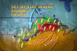 Twin Cities, Green Bay on Alert for Damaging Storms  If you hear a warning about an approaching storm, take no chances and head indoors. Staying away from windows and unplugging sensitive electronics is also advisable with these storms.