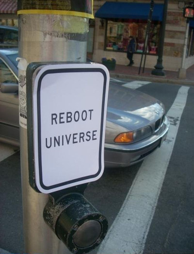 dericulous:  The Universe needs a good kicking…