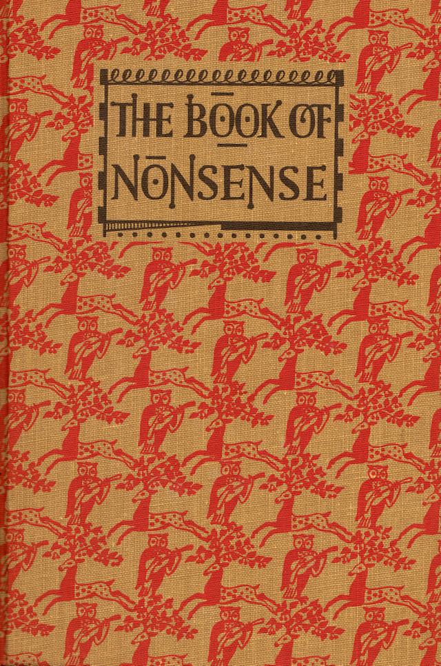 teachingliteracy:  The Book of Nonsense (by my vintage book collection (in blog form))  Related: The Book of Nonsense on Amazon
