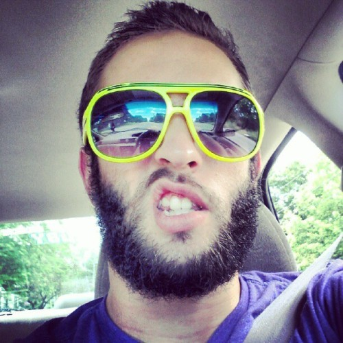 Tactical beard equipped. (Taken with Instagram at Waterville, ME)