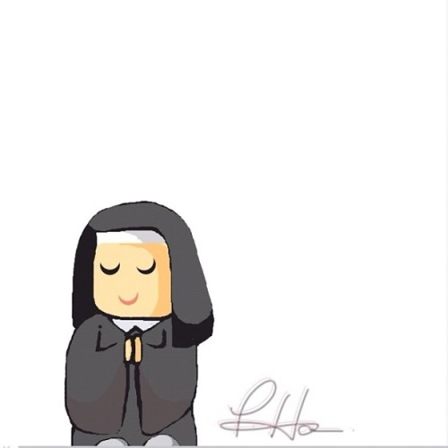 Chibi nun Attempt for my tomato cheeks @sweetginx #iparindhida #teamdli @teamdli #awesomedrawsome #bestofdrawsomething #doodle #omgpop #drawsomething #drawsomethingdesigns @drawsomethingdesigns #fyoupicasso #drawing #drawsomethingcontest #arts #artmazing #drawanything #drawsomethingartists #drawsomethingart_ #instagramers #igers #drawsomethingepic #chibi #anime #nunds Word : #NUN  (Taken with Instagram)