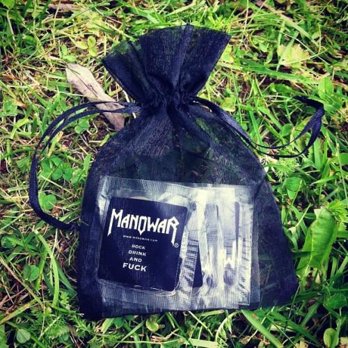 goranimperator:  #manowar #condom #condoms #metal (Taken with Instagram)  Taken with Instagram