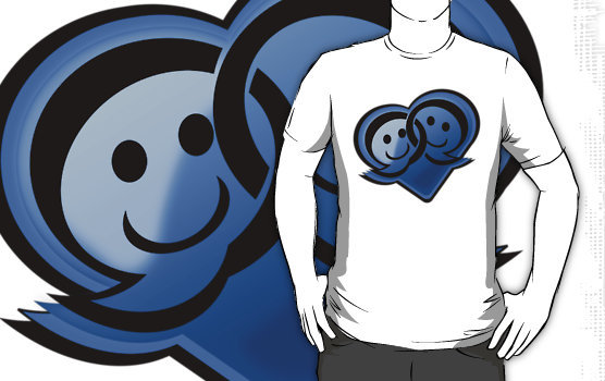 """Social Network Love"" T-Shirts & Hoodies by FuelStation 