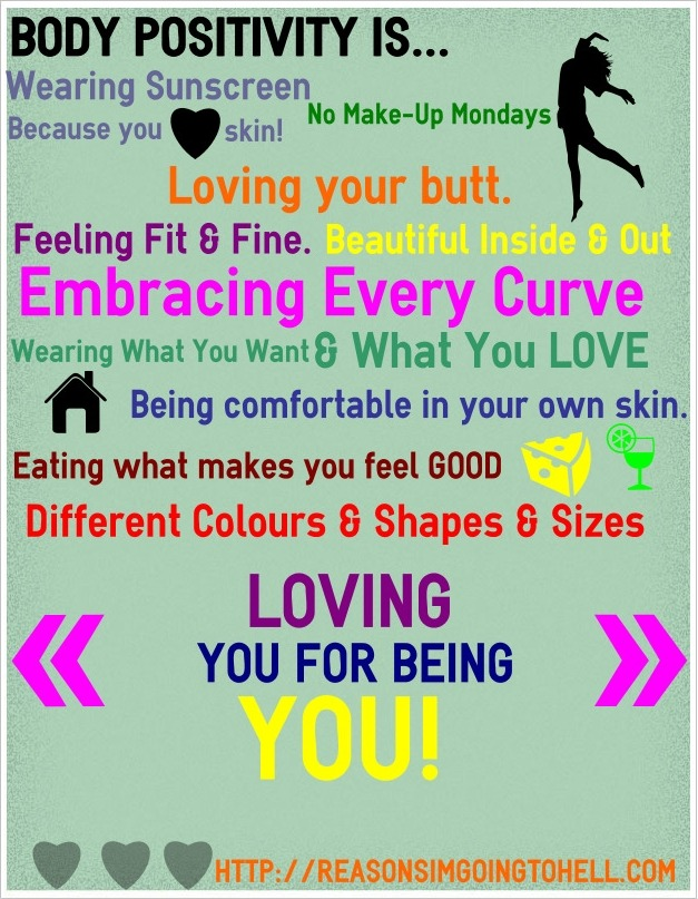 craftyshedevil:  Body Positivity