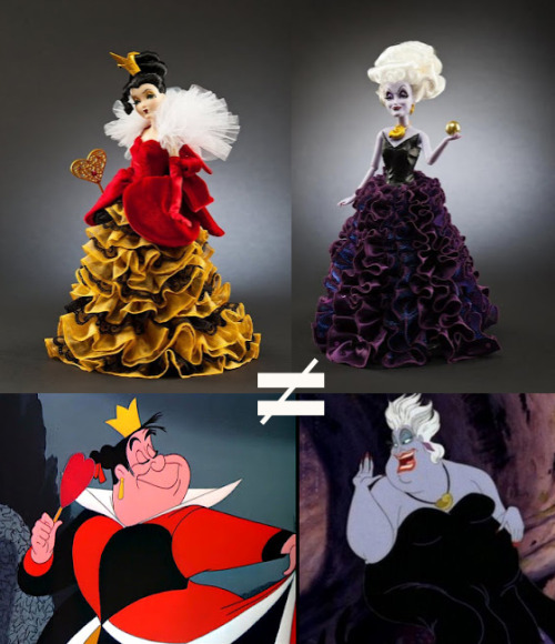 People seem to be pretty excited about the Disney Designer Villains Collection, but I'm annoyed. Urusla and The Queen of hearts look nothing like themselves! So I wrote a post about it. You can read it here.