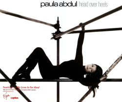 Paula Abdul, Head Over Heels, 1995.