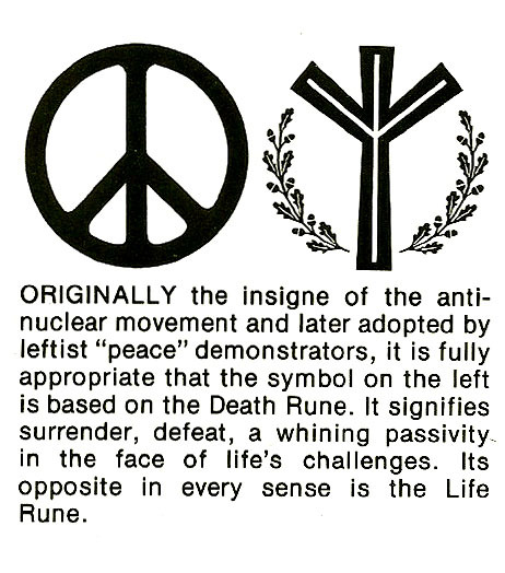 aryanfuturism:  Life and Death Rune Image from The History and Significance of the Life Rune by Jim Dewitt