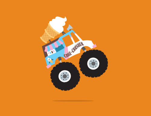 Ice Cream Monster Truck Get it on a shirt HERE