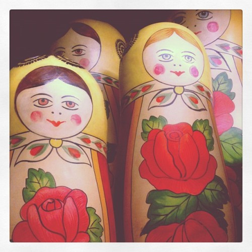 Lifesize Russian Dolls #props  (Taken with Instagram)