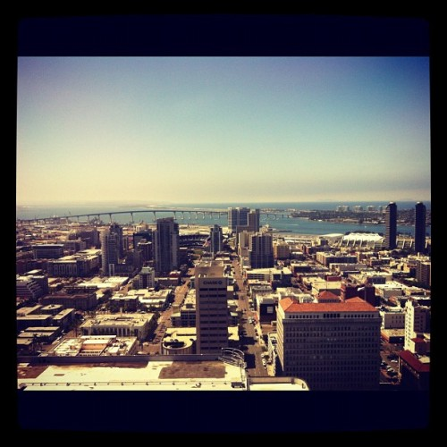 #sandiego #universityclub #cityscape (Taken with Instagram at University Club at Symphony Towers)