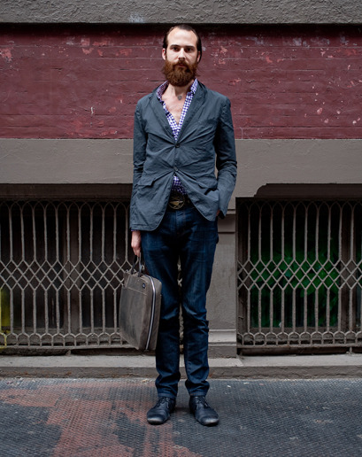 gqfashion:  Street Style: NYC