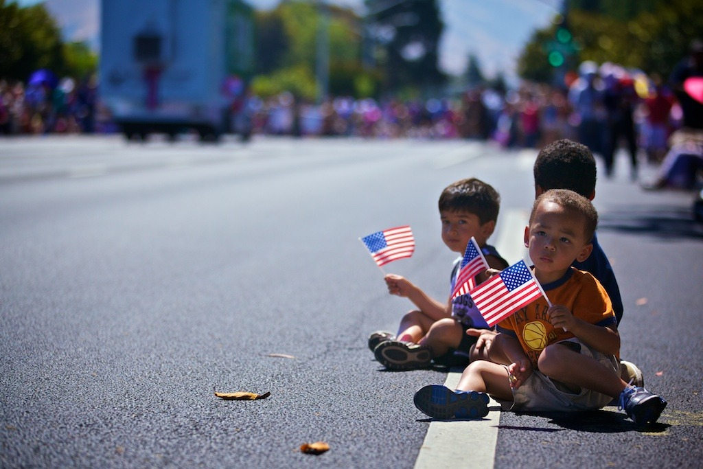 Happy 4th of July! Taken at Fremont's 4th of July Parade. More photos here…. http://tinyurl.com/7jvd9mp