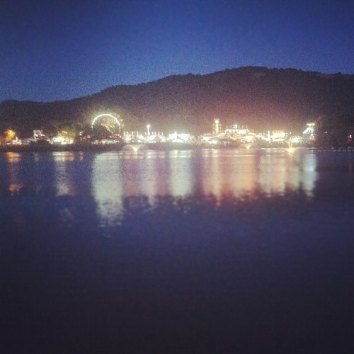 Marin County Fair over the lake | #latergram #marin #county #fair #iphone4 #iphoneography #igers #igers_sf  (Taken with Instagram at Marin County Fair)