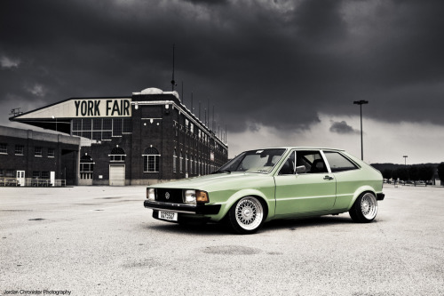 Matt Zinn's Scirocco  (by Jordan Chronister)