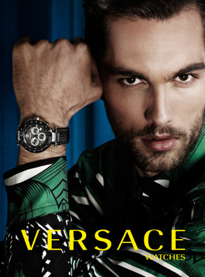 Tobias Sorensen for Versace Watches