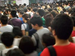 Subways in Beijing…SO CROWDED!!!