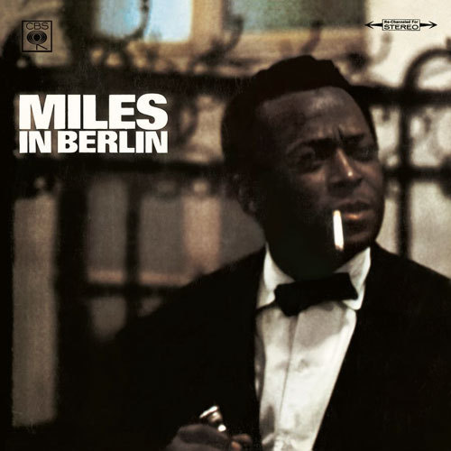 Album Cover (1965) Miles Davis // Miles In Berlin Click here for more old school album covers.