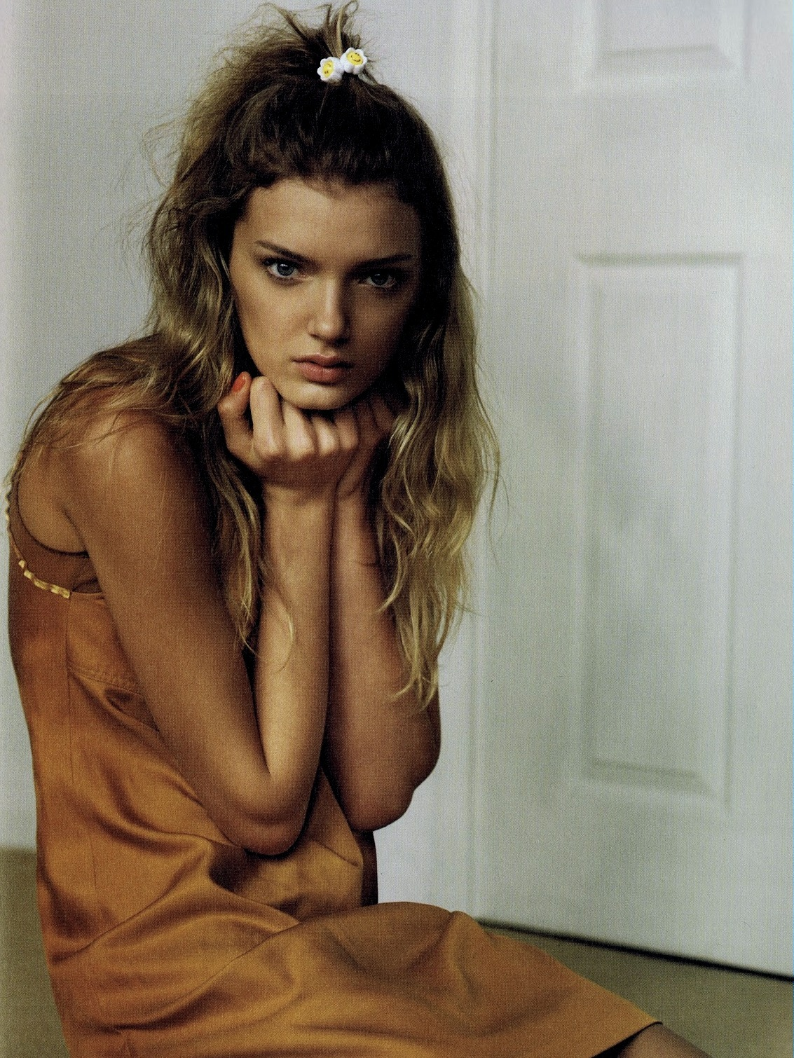 Lily Donaldson for i-D March 2007 by Alasdair McLellan