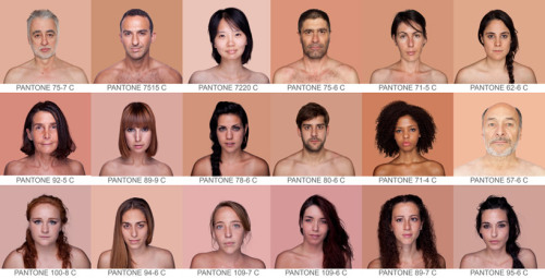PANTONE skin color spectrum, so great. Also see PANTONE's color history of the 20th century. (↬ this isn't happiness)