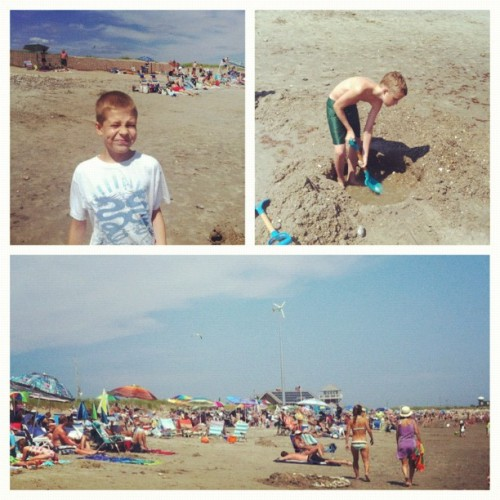 East Matunuck beach with Matt and Joe.! (Taken with Instagram)