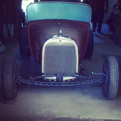 #hot #rod #hotrod #ford Grandpa's hotrod. (Taken with Instagram)